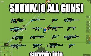 surviv.io all guns