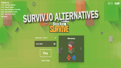surviv.io alternatives