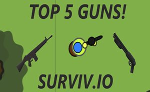 surviv.io best weapons