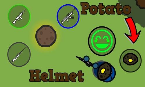 surviv.io helmets