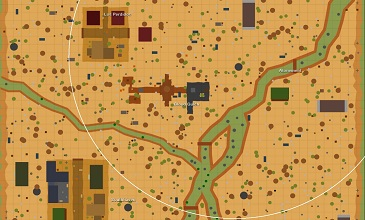 Photo of Surviv.ioDesert Map